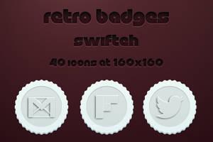 Retro Badges by ryan1mcq