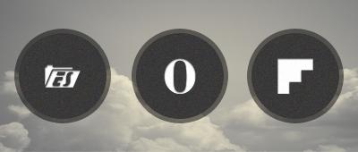 Black rim icon set by ryan1mcq