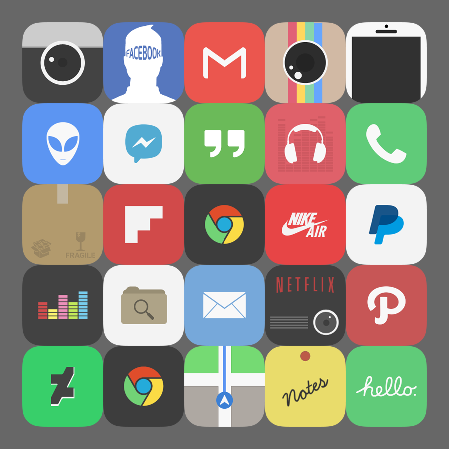 Sell icon packs for android