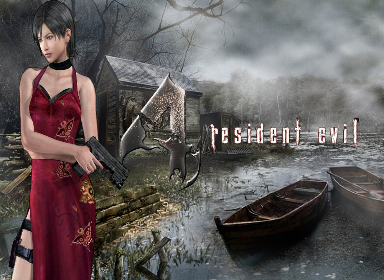Resident Evil 4 Ada Wallpaper By Biohazard Apocalypse On Deviantart