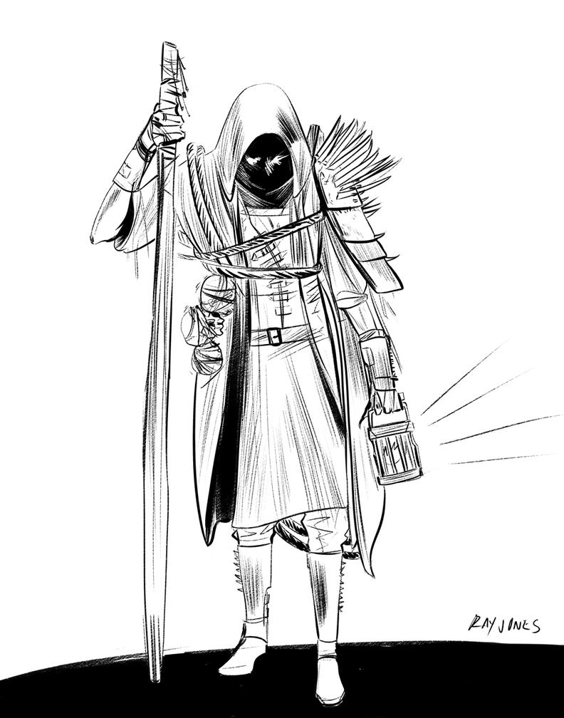 Conquering ArtBLOCK: Character 01 by jonesray