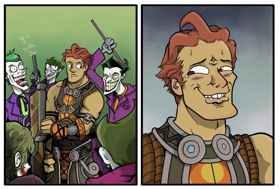 Un poco de humor XD - Universo Xenoblade