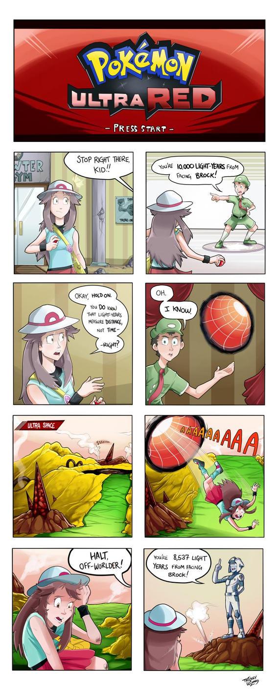 Pokemon: Ultra Red by TricksyWizard