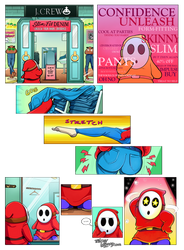Shy Guy Adventures: One Leg at a Time by TricksyWizard