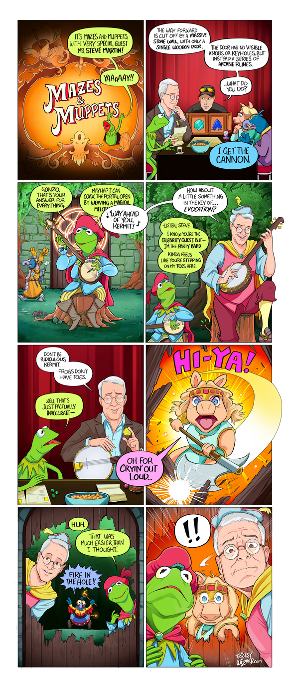 Mazes and Muppets by TricksyWizard