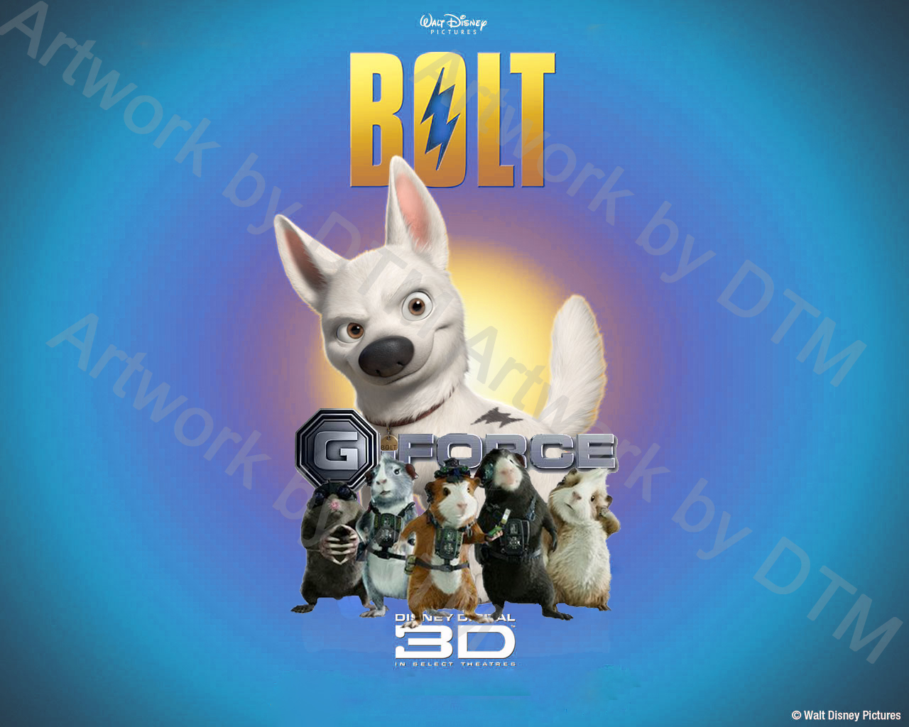 Bolt And G Force Wallpaper By Digimontamermaster On Deviantart HD Wallpapers Download Free Images Wallpaper [1000image.com]