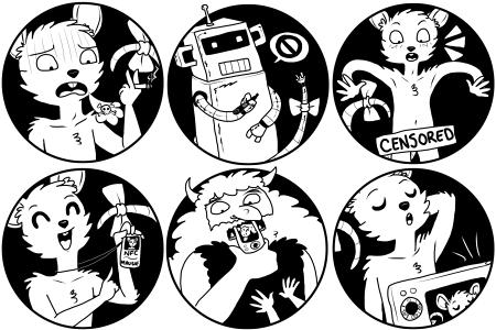 Mausie Icons by zenia
