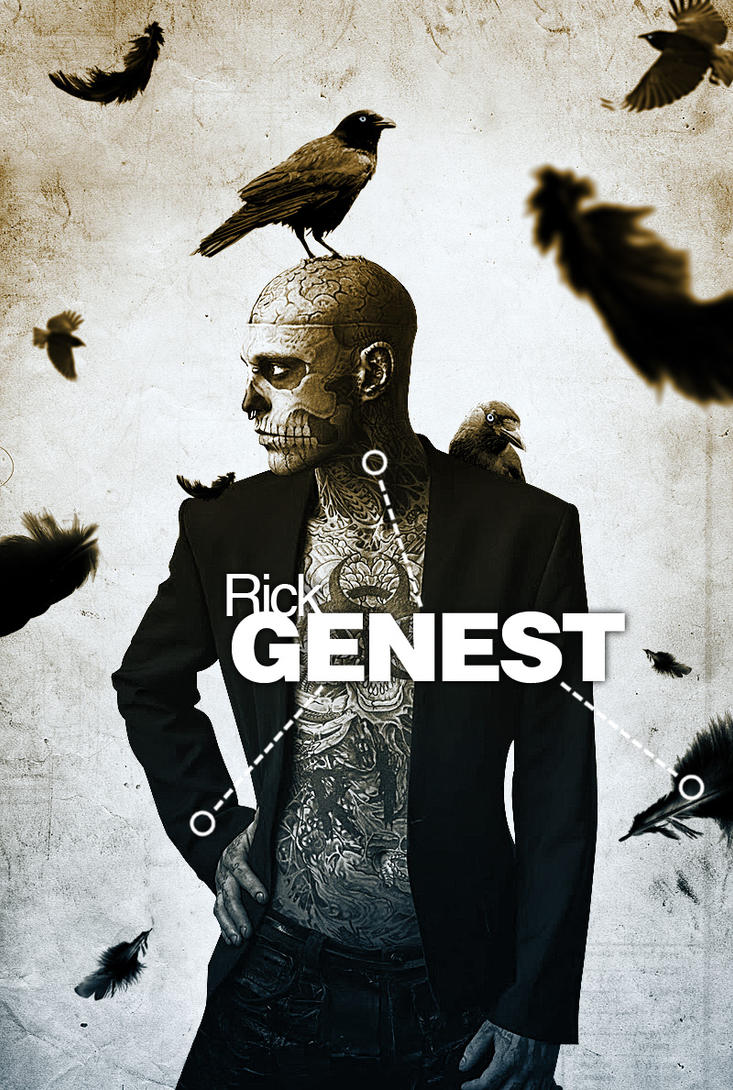 Rick Genest Tribute by Neimad-Design