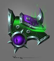 Warlock Shoulder Pads