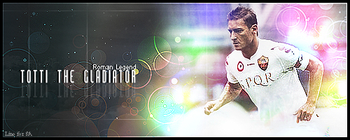 wesh!!!!!!!!!!forz roma!!!! - Page 2 Totti_gladiator_SPQR_by_Linuxdj92