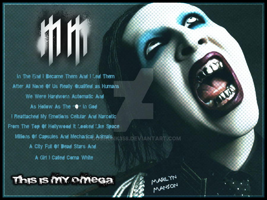 Marilyn Manson Wallpaper By Goshunk358 On Deviantart