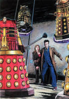 DOCTORDONNA AND THE DALEKS by Herbarianband