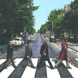 DOCTOR WHO/Abbey Road pastiche