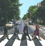 DOCTOR WHO/Abbey Road pastiche