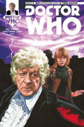 NEW ADVENTURES WITH THE 3RD DOCTOR #4 COVER ART