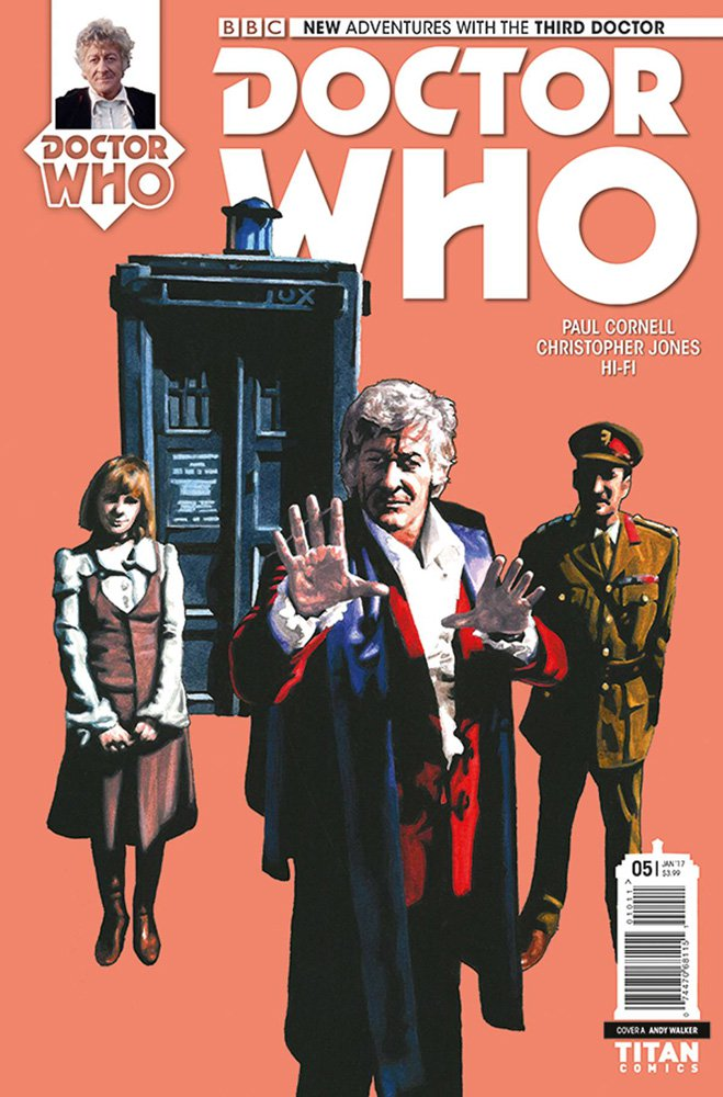 NEW ADVENTURES WITH THE THIRD DOCTOR #5 by Herbarianband