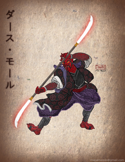 Darth Maul Japanese version by pahko
