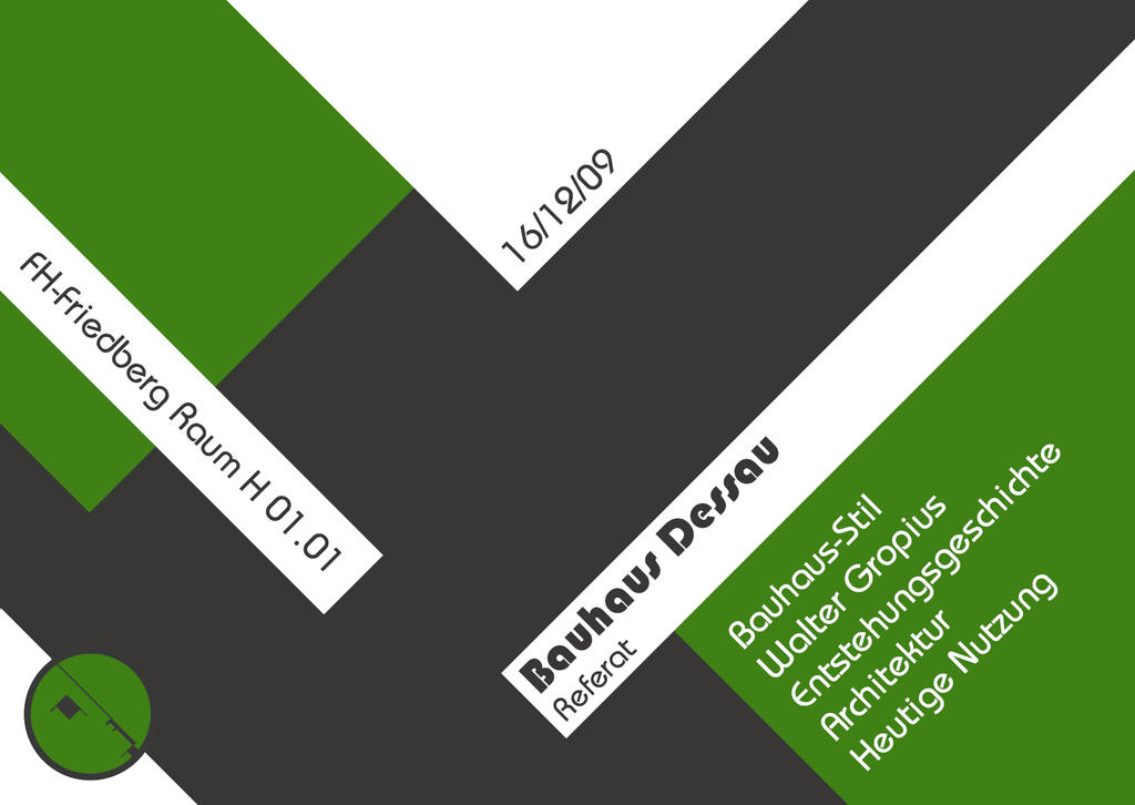 Bauhaus Flyer Mersnoforum