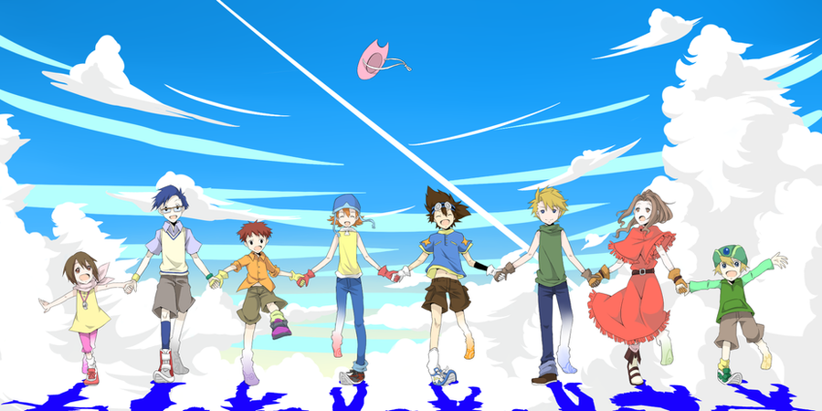 Digimon 8/1 !!!!!!! by iTsuyaAme
