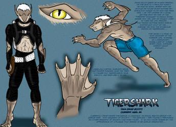 Tigershark: Character Sheet by Tigershark06