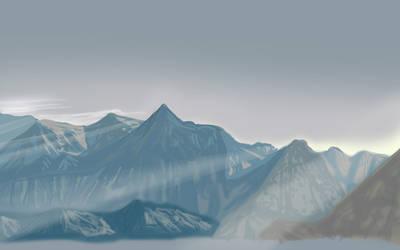Mountain-speedpaint