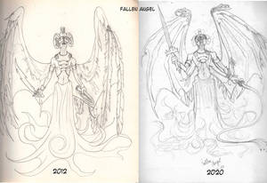 Fallen Angel then and now