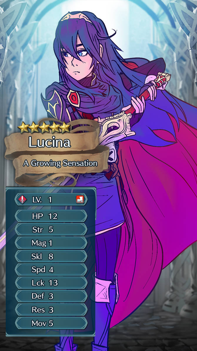 Growth Drive: Lucina's Awakening - Level 1 by CaptainXero