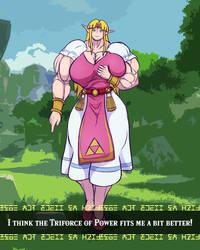 Ready To Smash! - Zelda by CaptainXero