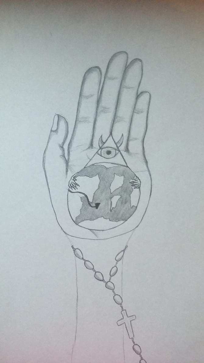 WE have the evil in the palm of our hands by doonlet