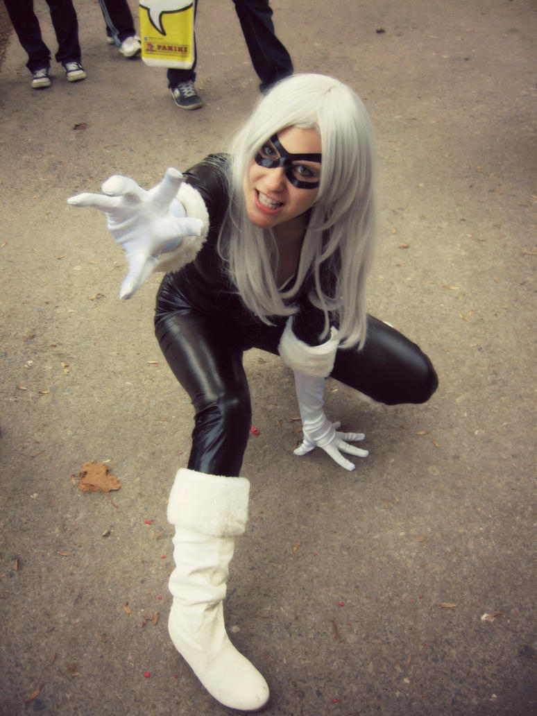 Black Cat @ Lucca Comics by SajikaCosplay