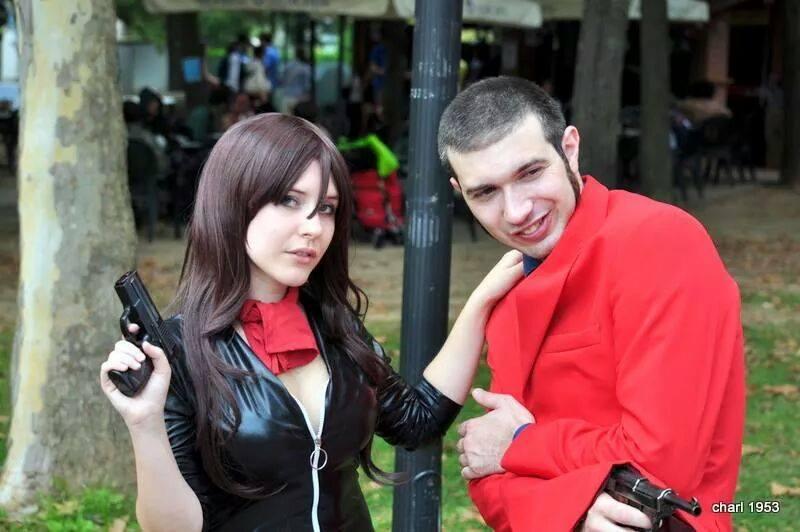 Fujiko and Lupin by SajikaCosplay