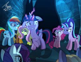 MLP  Bad ending of the MLP season 5 Episode1,2 by 0Bluse