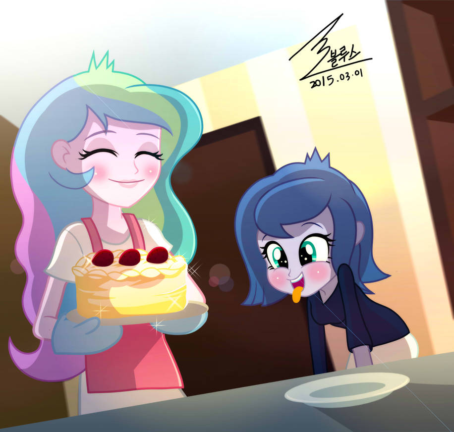 MLP Cake by 0Bluse