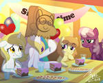 MLP Snack time