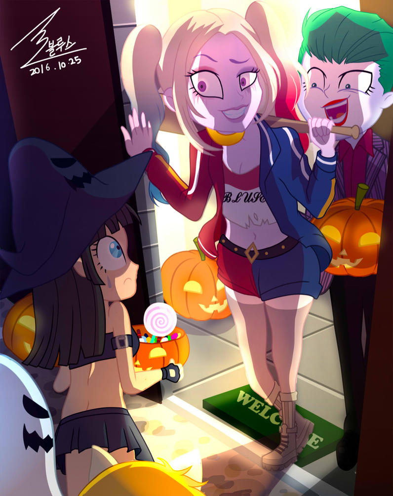 MLP Halloween by 0Bluse on DeviantArt