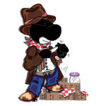 :UCoL Collab: Mr. Cowboy and Watch:.~ by EmilyGirata