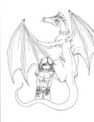 The Dragon Girl by Kisami14