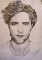 Robert Pattinson by kongsgaard