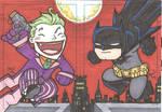 Chibi-Joker,Batman Sketchcards
