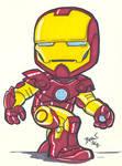 Chibi-Iron Man 3.