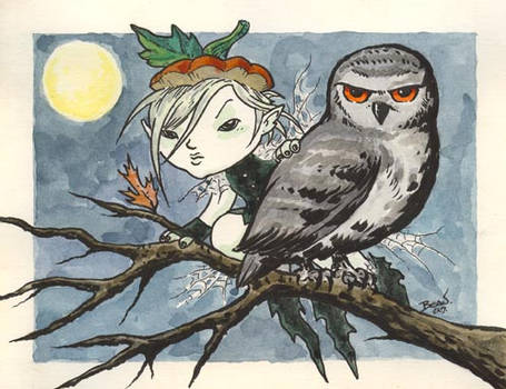 The Faerie and the Owl.