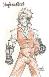 Seventh of London- Hephaestus Kildeggan Sketch. by hedbonstudios