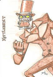 Seventh of London- Kettlebent Sketch. by hedbonstudios