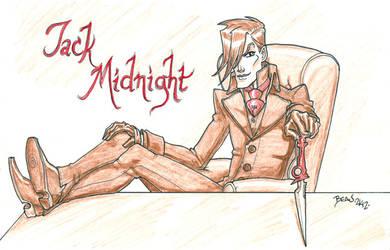 Seventh of London- Midnight Sketch. by hedbonstudios