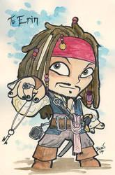 Chibi-Jack Sparrow 2 by hedbonstudios