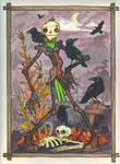 Mr. Ravenfright by Beau. by hedbonstudios