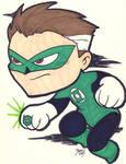 Chibi-Green Lantern.