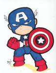 Chibi-Captain America 2