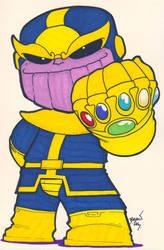Chibi-Thanos 4. by hedbonstudios