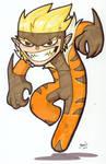 Chibi-Sabretooth.